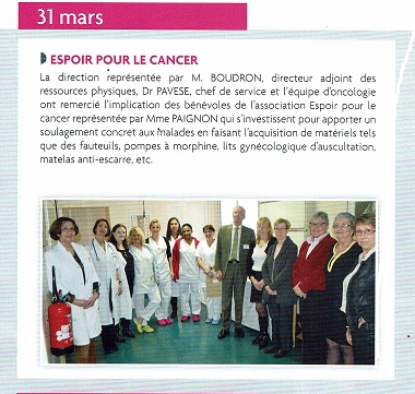 ARTICLE DE L HOPITAL